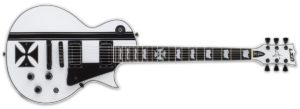 ZOOM ESP LTD James Hetfield Signature Iron Cross Electric Guitar Snow White
